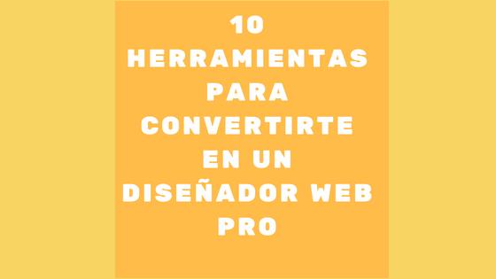 10 herramientas de diseño web